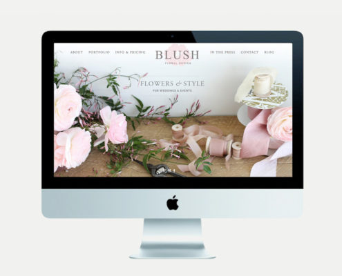 blush-website-homepage