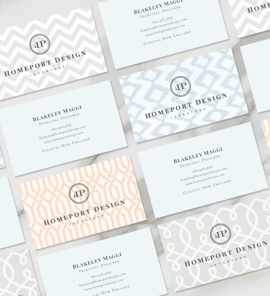 Homeport design interiors woma design interior design business card magicingreecefo Choice Image